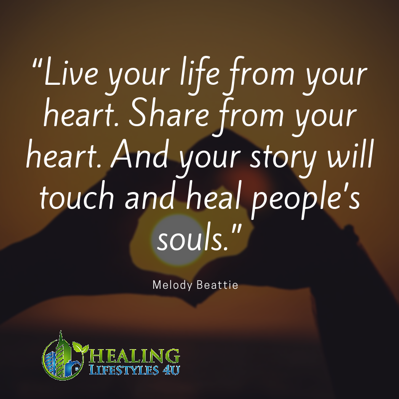 Good Morning Touching Quotes: Live Your Life From Your Heart. Share From Your Heart. And